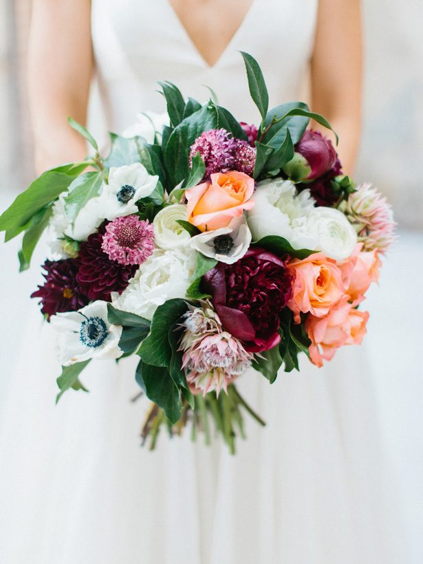 Fall Wedding Bouquet - 010. Rachel Red Photography