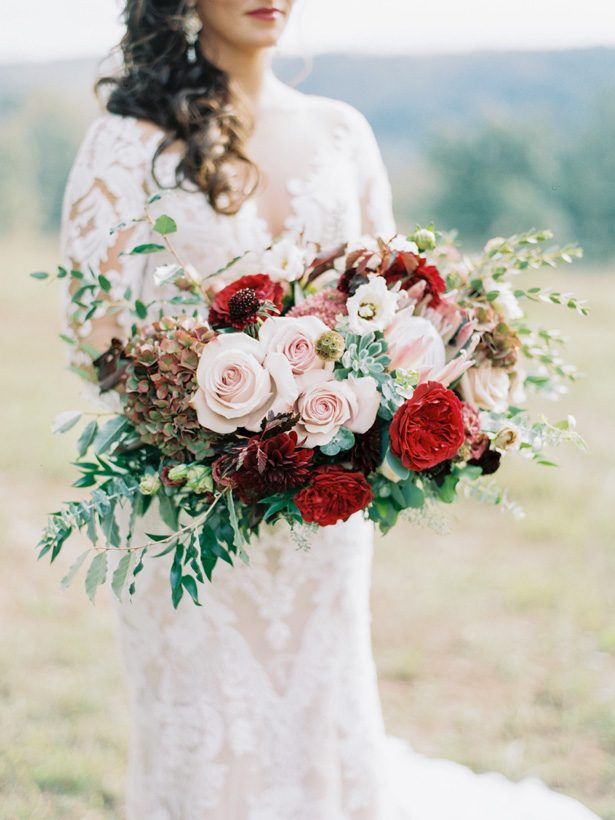 Fall Wedding Bouquet - 011. Rachel Red Photography