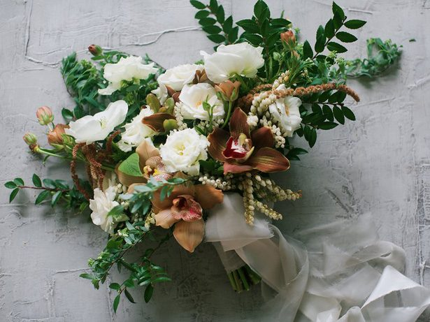 Stunning Fall Wedding Bouquet Inspiration
