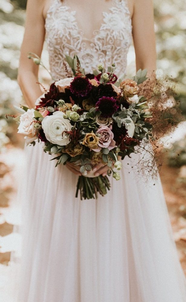 Fall Wedding Bouquet - 007. Bridal Bliss - Alyssa Brooke Photography