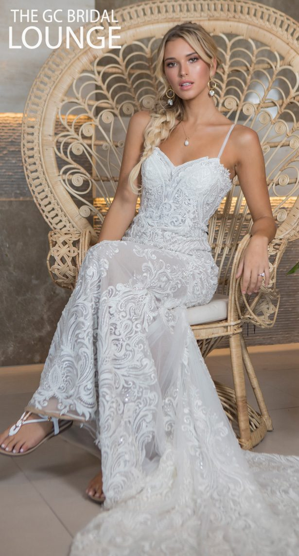 Kate Gubanyi for The GC Bridal Lounge Wedding Dresses 2020 - On Fire Bridal Collection - Marseille