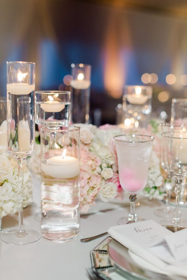 Low wedding centerpieces - Krystle Akin Photography