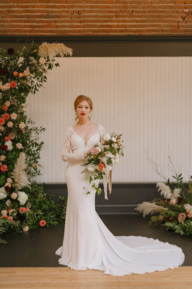 Sophisticated fall bride - Andrea Zajonc Photography