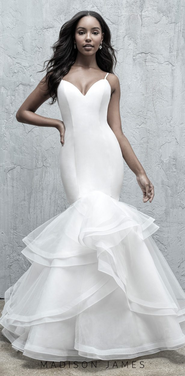 Stunning Wedding Dresses by Madison James Fall 2019  - MJ558F