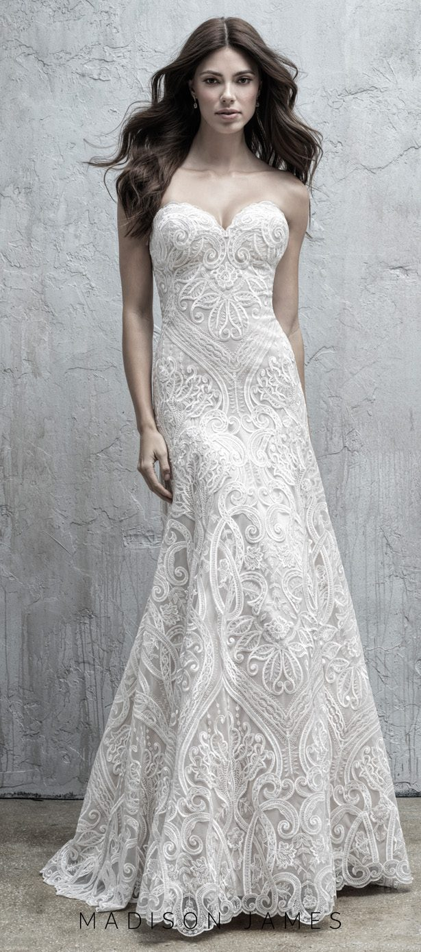 Stunning Wedding Dresses by Madison James Fall 2019  - MJ560F