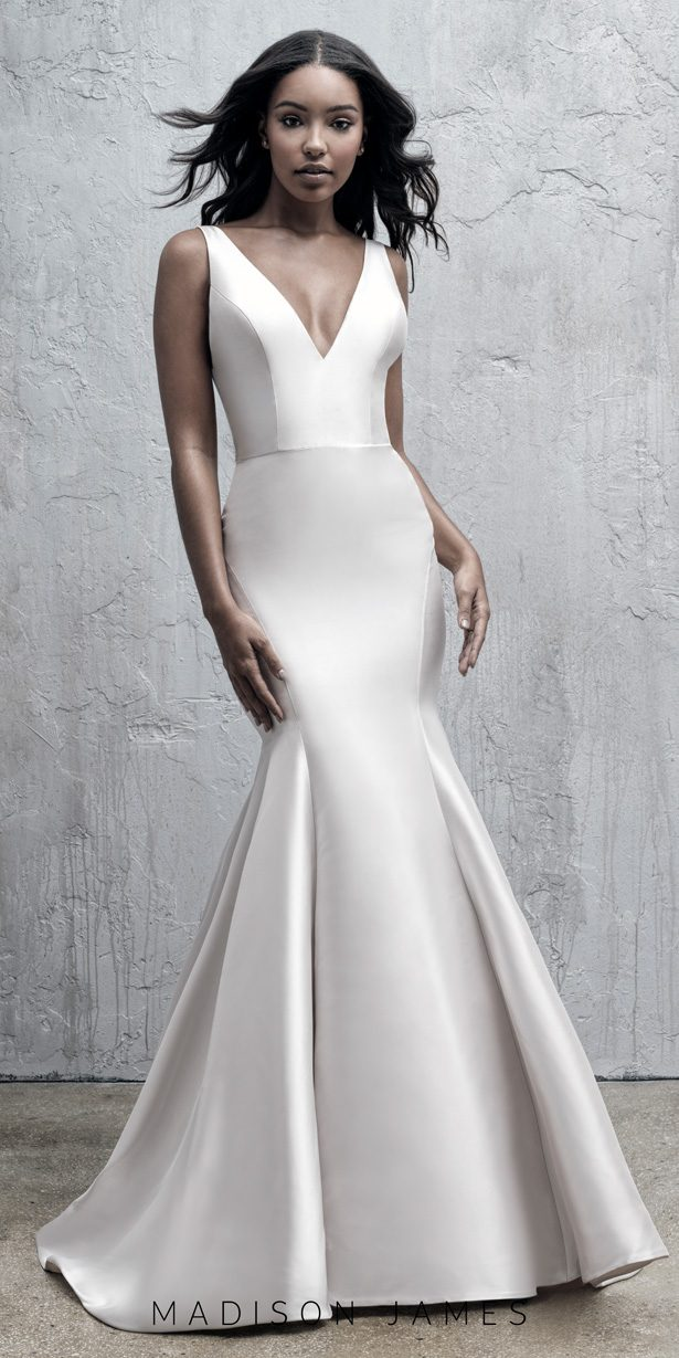 Stunning Wedding Dresses by Madison James Fall 2019  - MJ565B