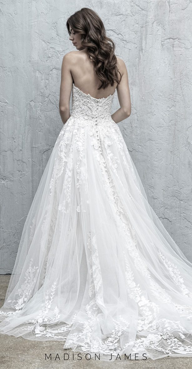 Stunning Wedding Dresses by Madison James Fall 2019  - MJ566