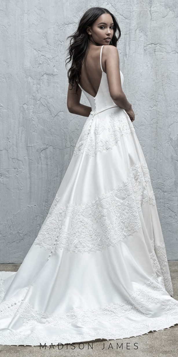 Stunning Wedding Dresses by Madison James Fall 2019  - MJ573