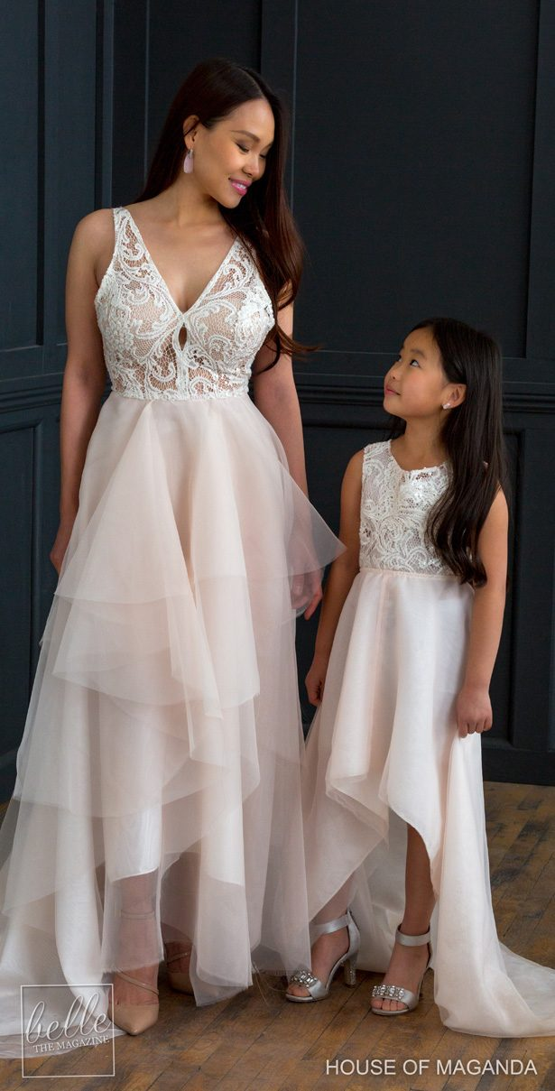 House of Maganda Wedding Dresses and flower girl dress -TinaDwyer Photography
