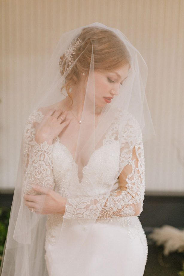 Wedding veil - Andrea Zajonc Photography