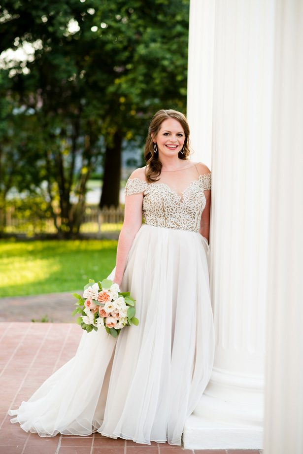 A-line wedding dress - Jenny DeMarco Photography