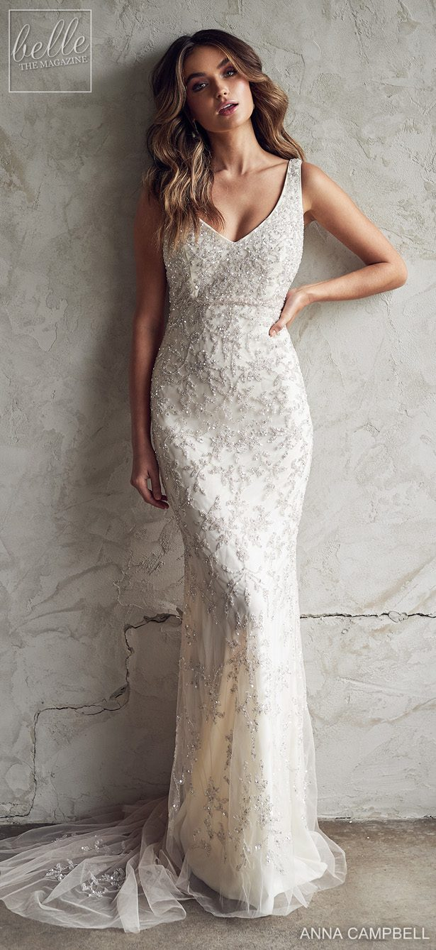 Anna Campbell 2020 Wedding Dress Lumiére Bridal Collection - Eden Fitted