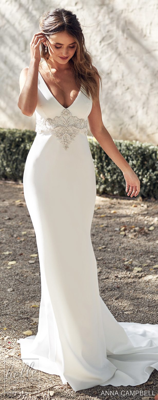 Anna Campbell 2020 Wedding Dress Lumiére Bridal Collection - Hunter Fitted