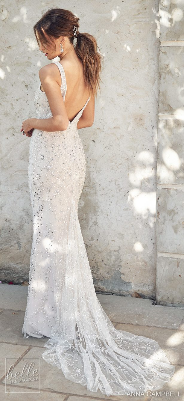 Anna Campbell 2020 Wedding Dress Lumiére Bridal Collection - Indigo Fitted
