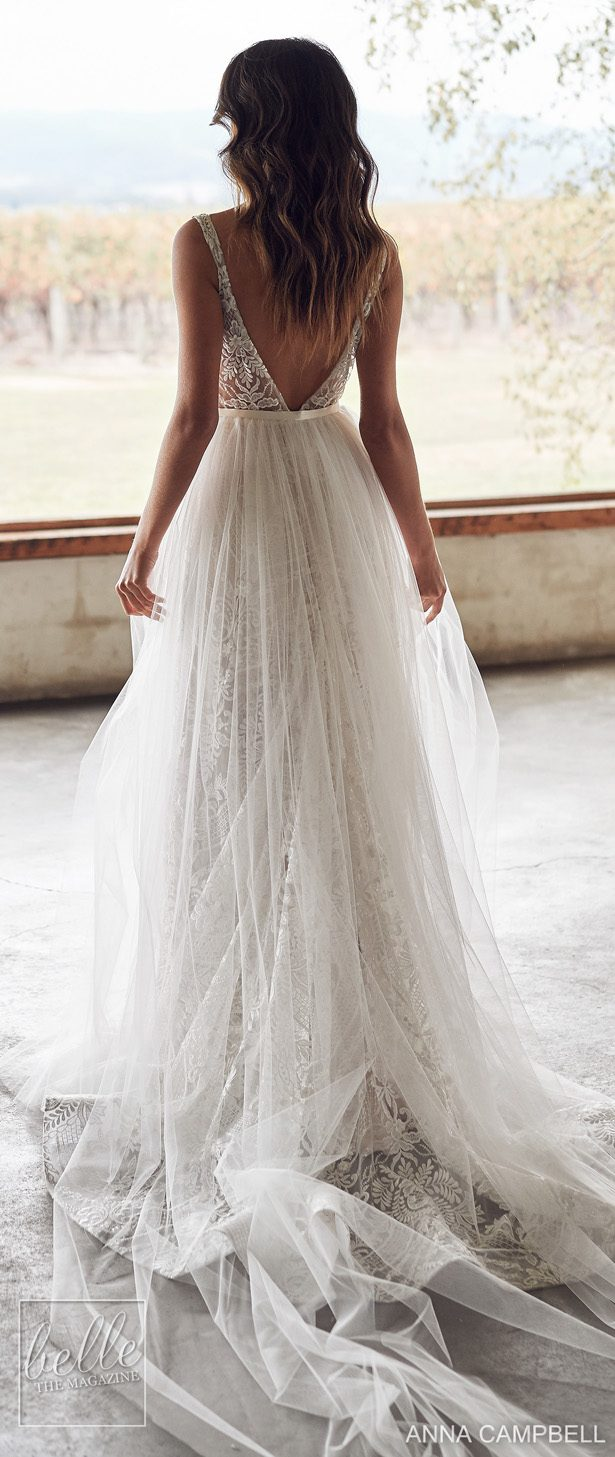 Anna Campbell 2020 Wedding Dress Lumiére Bridal Collection - Lexi Empress with Zoe Overskirt
