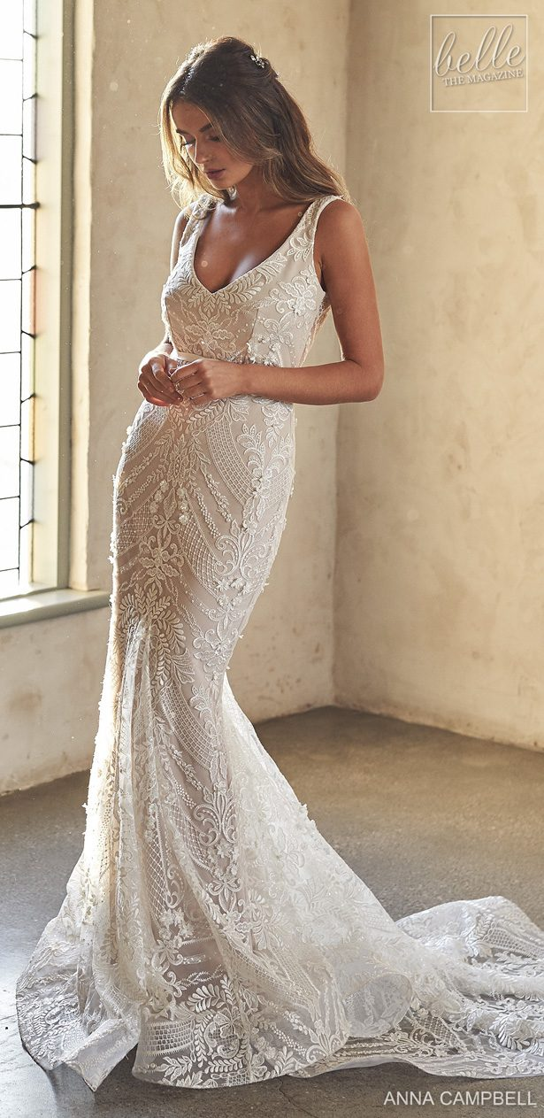 Anna Campbell 2020 Wedding Dress Lumiére Bridal Collection - Lexi Trumpet