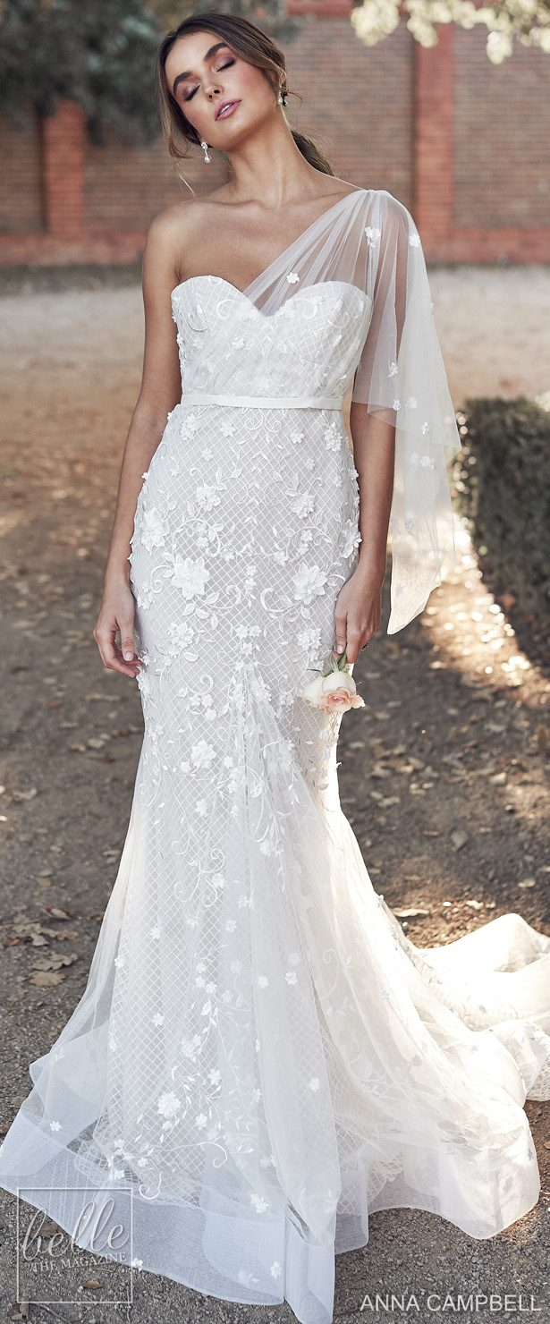 Anna Campbell Wedding Dresses 2020 Belle The Magazine,Wedding Guest Maxi Dress With Sleeves