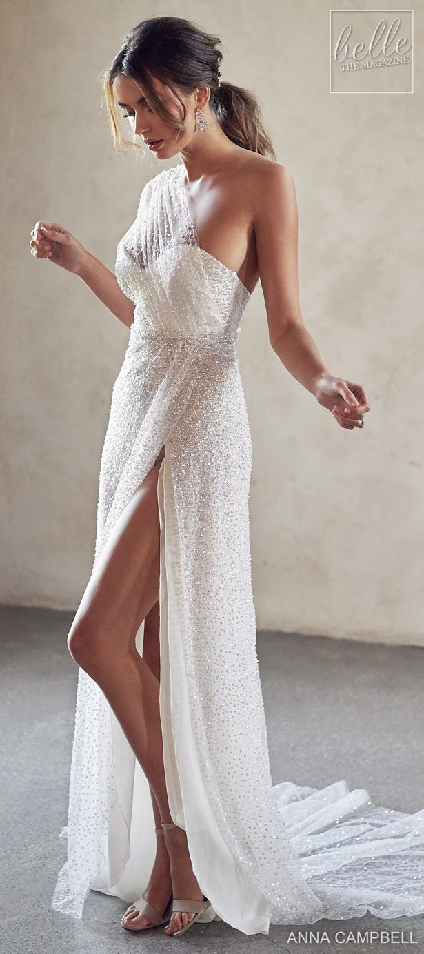 Anna Campbell 2020 Wedding Dress Lumiére Bridal Collection - Tate With Side Split