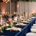 Long wedding tablescape - Jenny DeMarco Photography