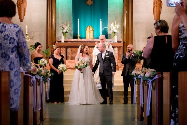 Church wedding ceremony - Jenny DeMarco Photography