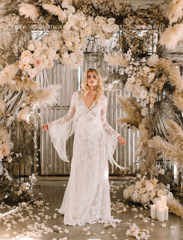 Pampas grass wedding - Photography: Julia Winkler