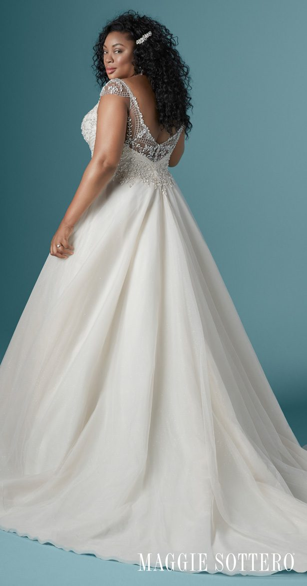 Plus Size Wedding Dress by Maggie Sottero - Zandrina