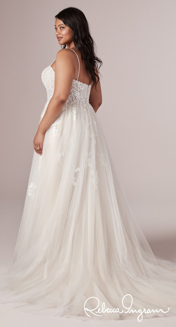 Plus Size Wedding Dress by Rebecca Ingram - Marisol