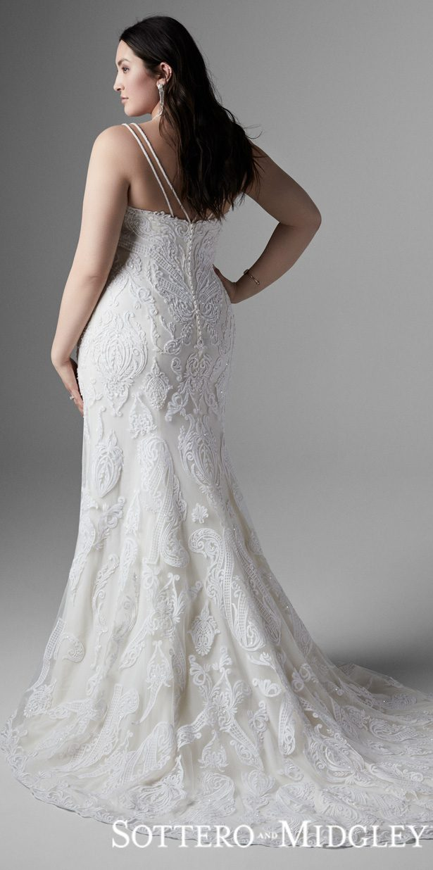 Plus Size Wedding Dress by Sottero and Midgley - Devon