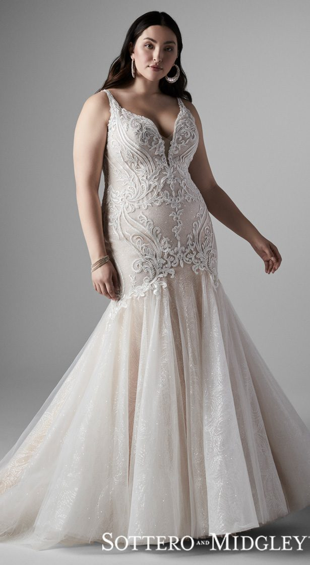 2020 Plus Size Wedding Dress Styles For The Curvy Bride,Wedding Dresses Boise