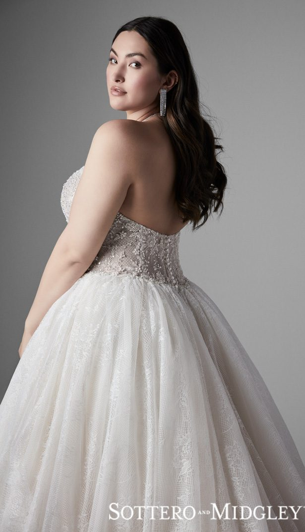 Plus Size Wedding Dress by Sottero and Midgley - Thaddeus