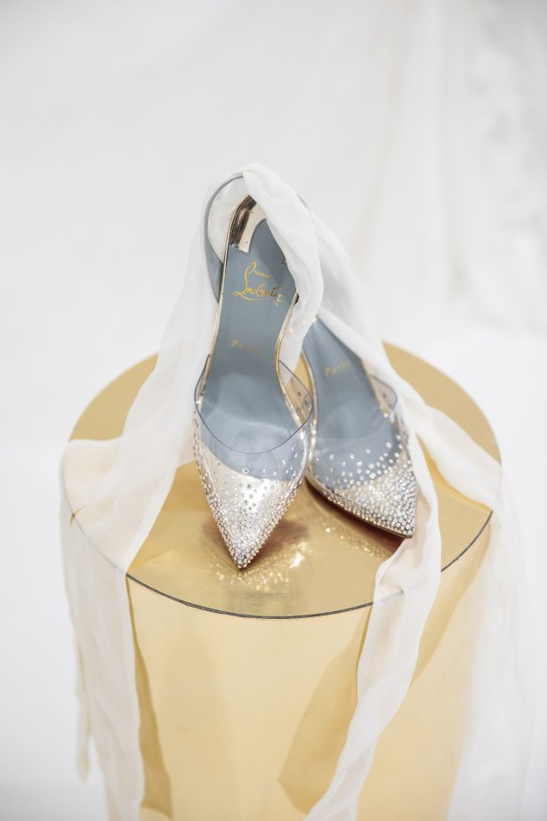 Loboutin luxury wedding shoes - Rafal Ostrowski Photography