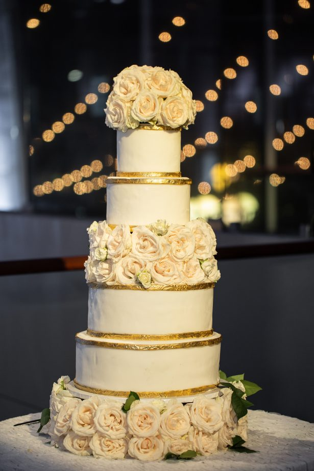 White luxury wedding cake - Rafal Ostrowski Photography