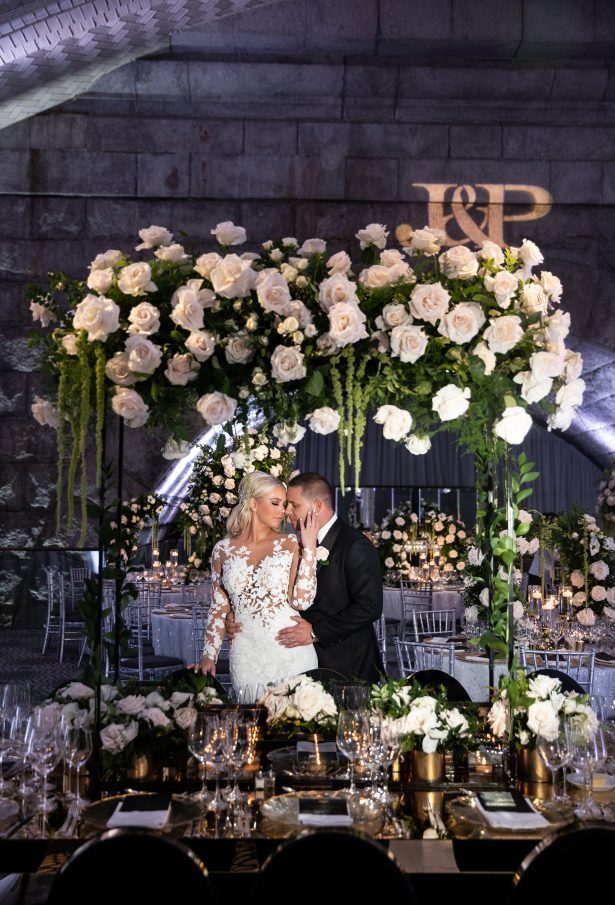 Ultra Glamorous New York Wedding