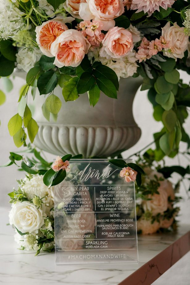 Wedding sign - Jenny DeMarco Photography