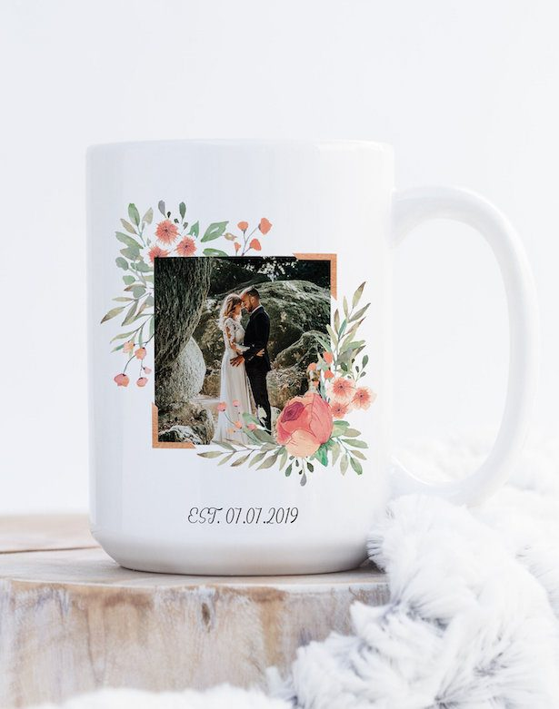 wedding photo gifts - mug