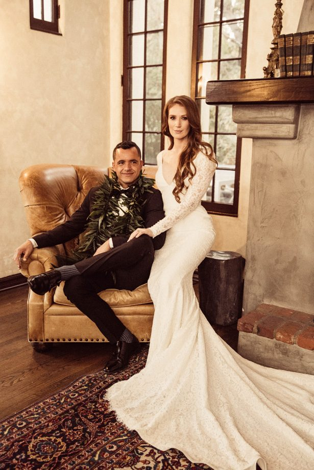 Glamorous bride and groom photo - Robbie Ziegler Photography