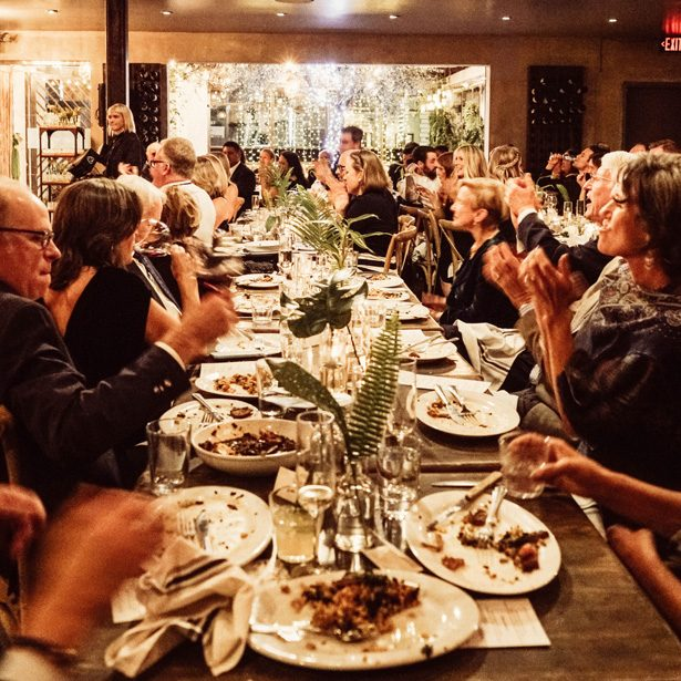 Long wedding table for reception - Robbie Ziegler Photography