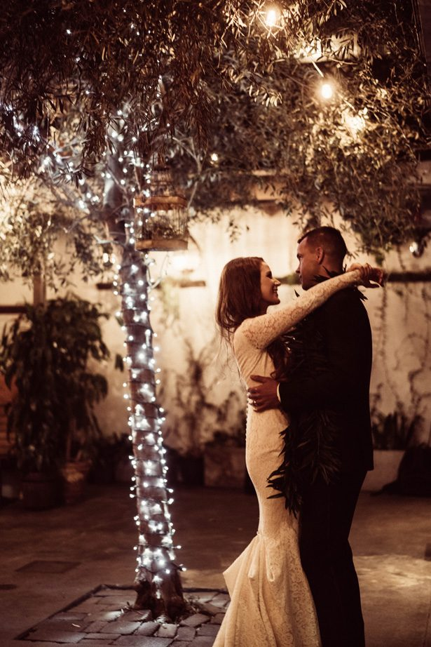 Romantic wedding photo of first dance - Robbie Ziegler Photography