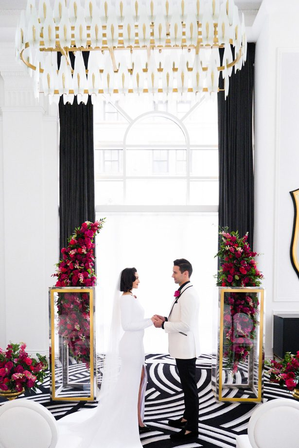 Ultra Luxe Wedding Ceremony - Leeann Marie Photography