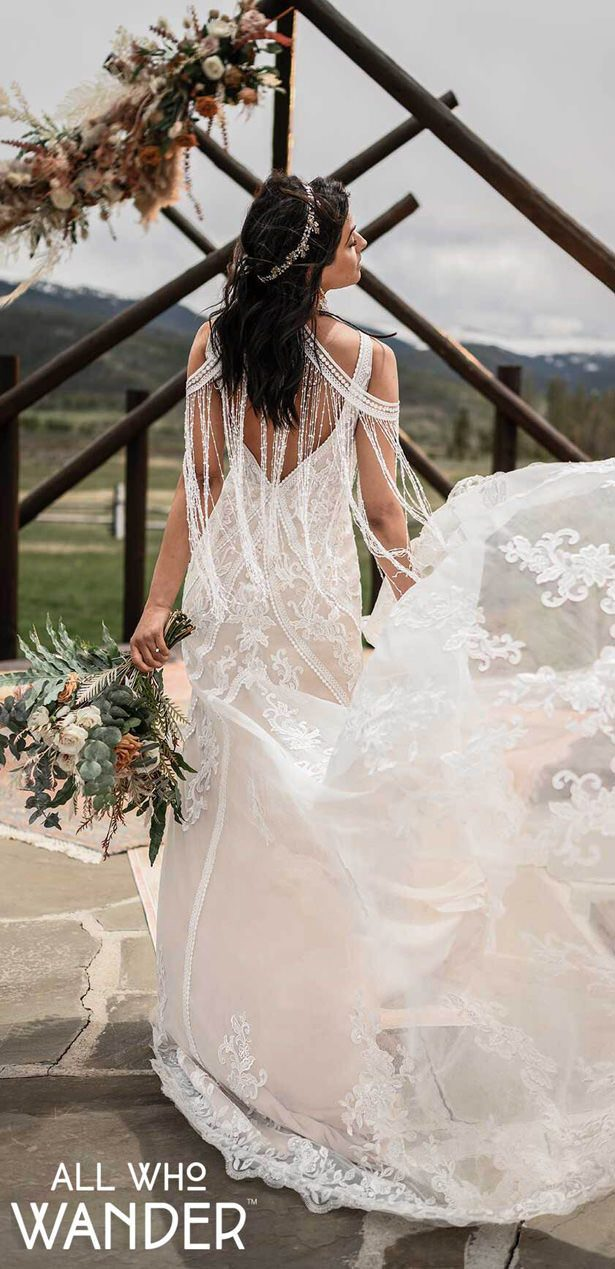 Wedding Dresses by All Who Wander - Avery