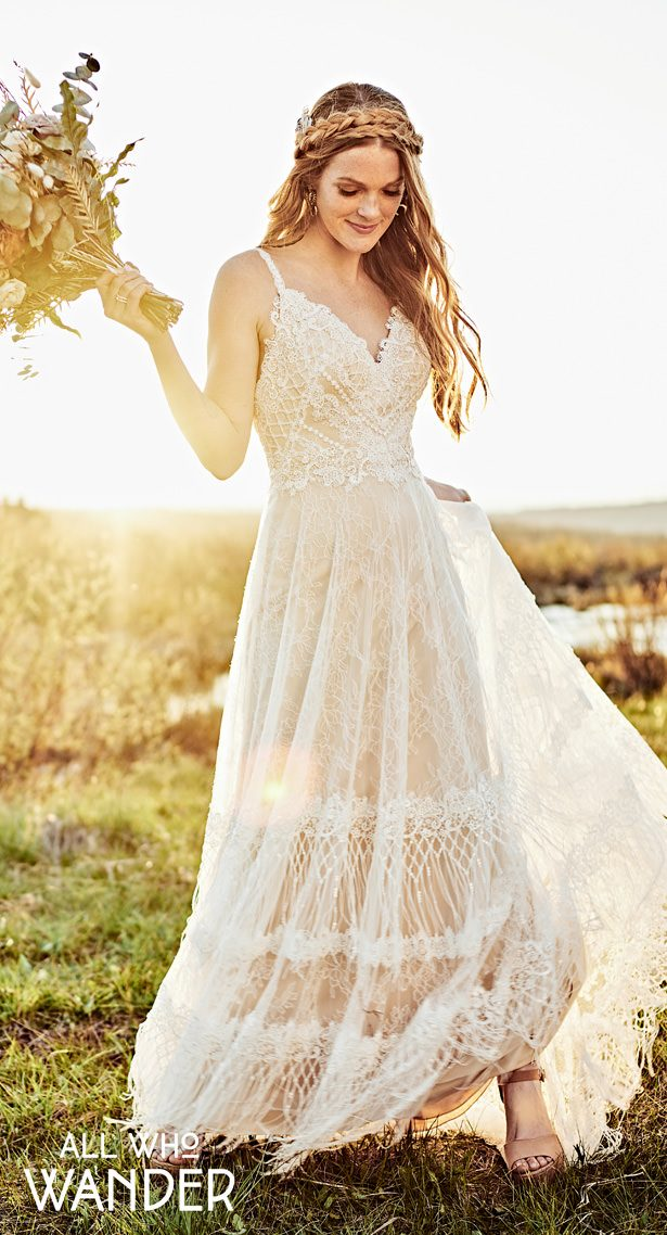 Wedding Dresses by All Who Wander - Harlo