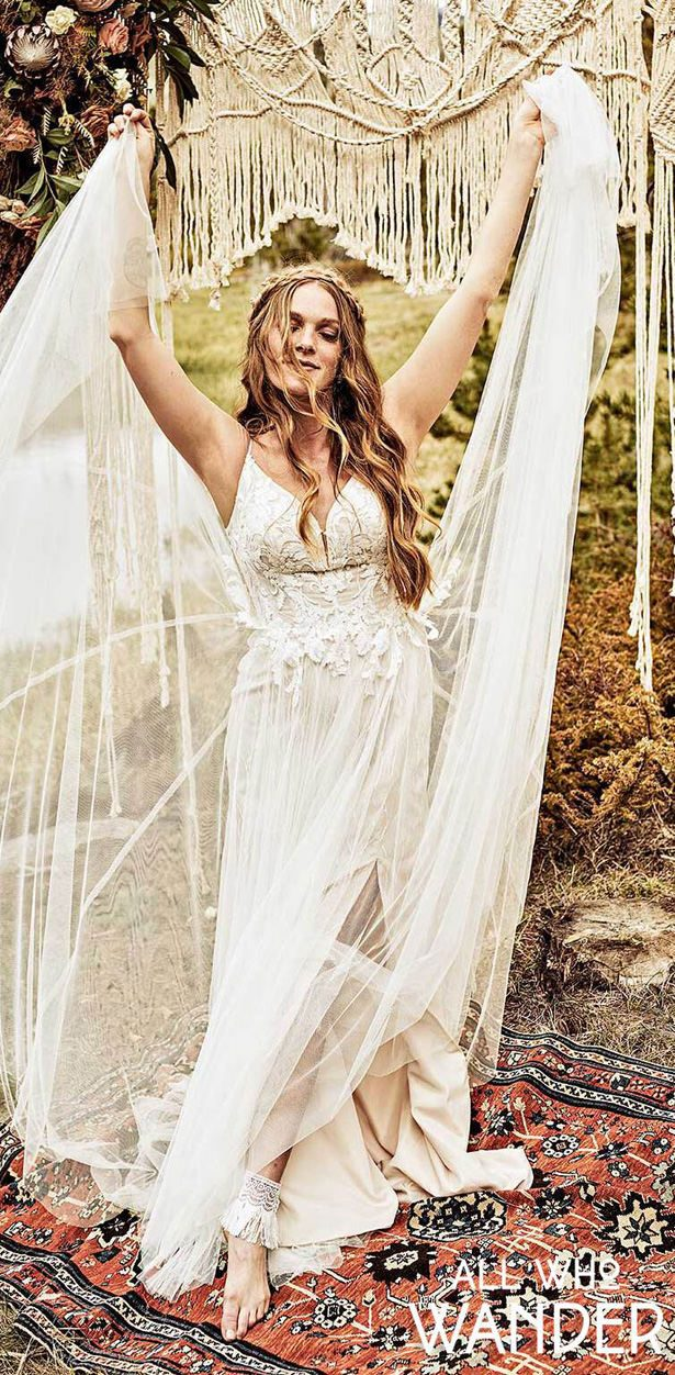 Wedding Dresses by All Who Wander - Marly