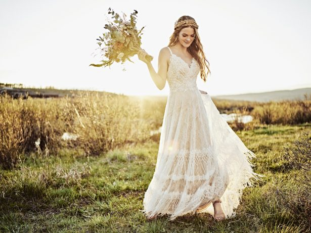 "Worldwide Debut of ""All Who Wander"" Wedding Dresses"