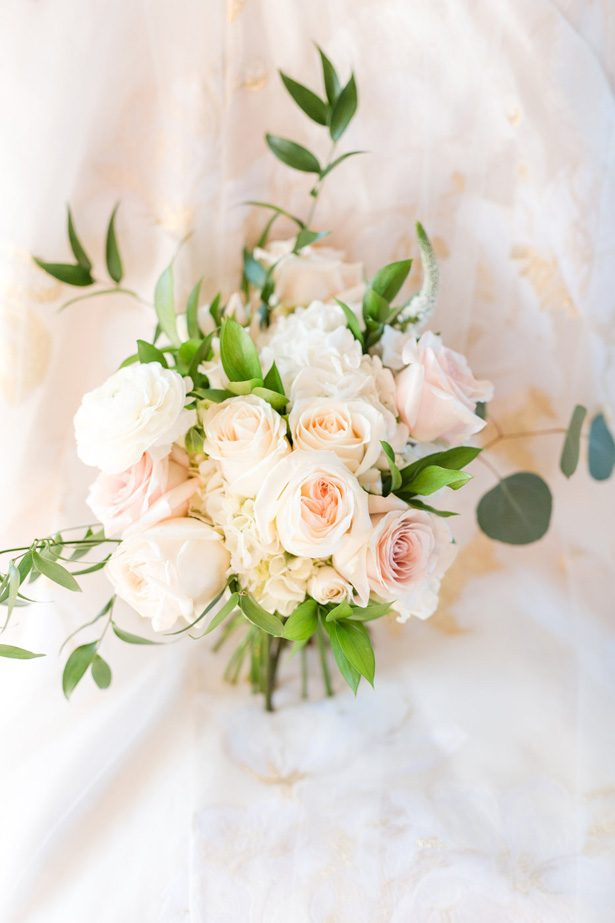 Blush Wedding Bouquet -  Jennifer Markle Photography
