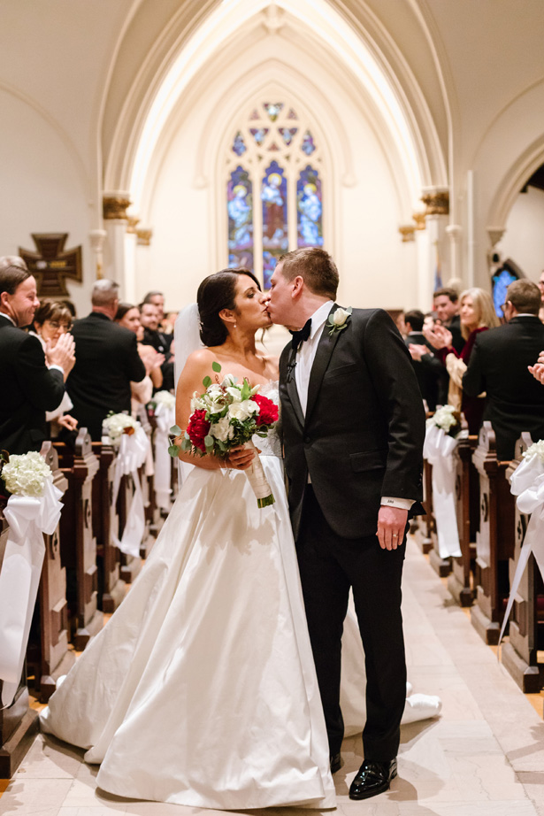 Church wedding ceremony- Urban Row Photography