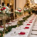 Elegant Winter Wedding Loaded With Holiday-Inspired Details - Urban Row Photography
