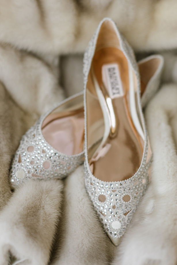Elegant wedding shoes - Urban Row Photography