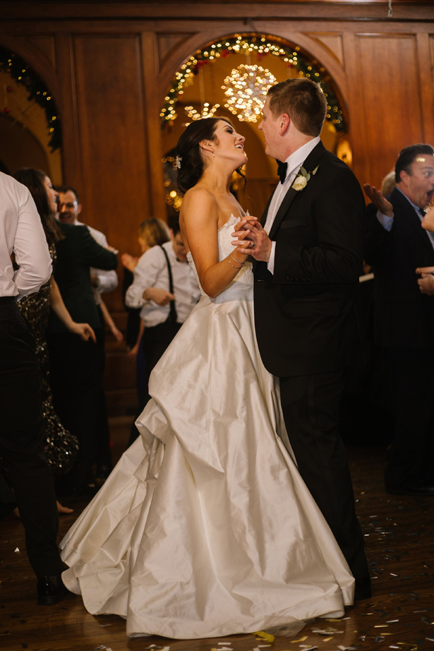 First dance romantic wedding photo - Urban Row Photography