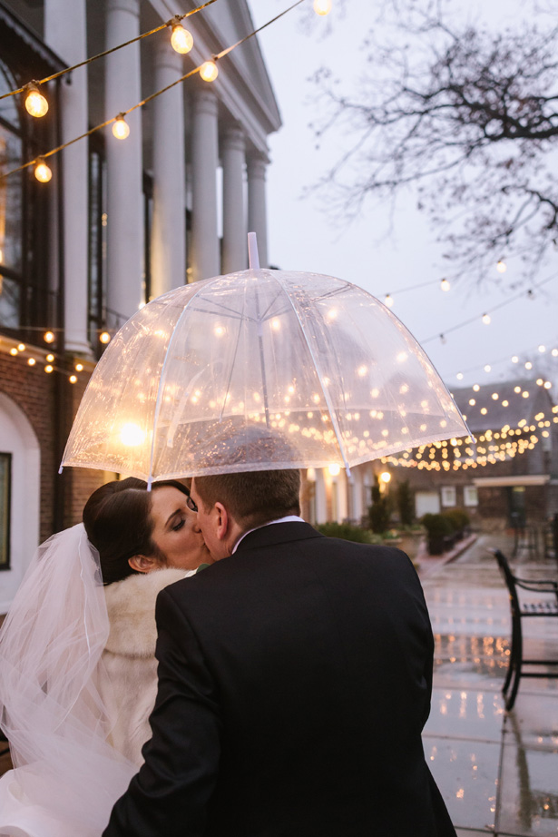 Romantic winter wedding photo - Urban Row Photography