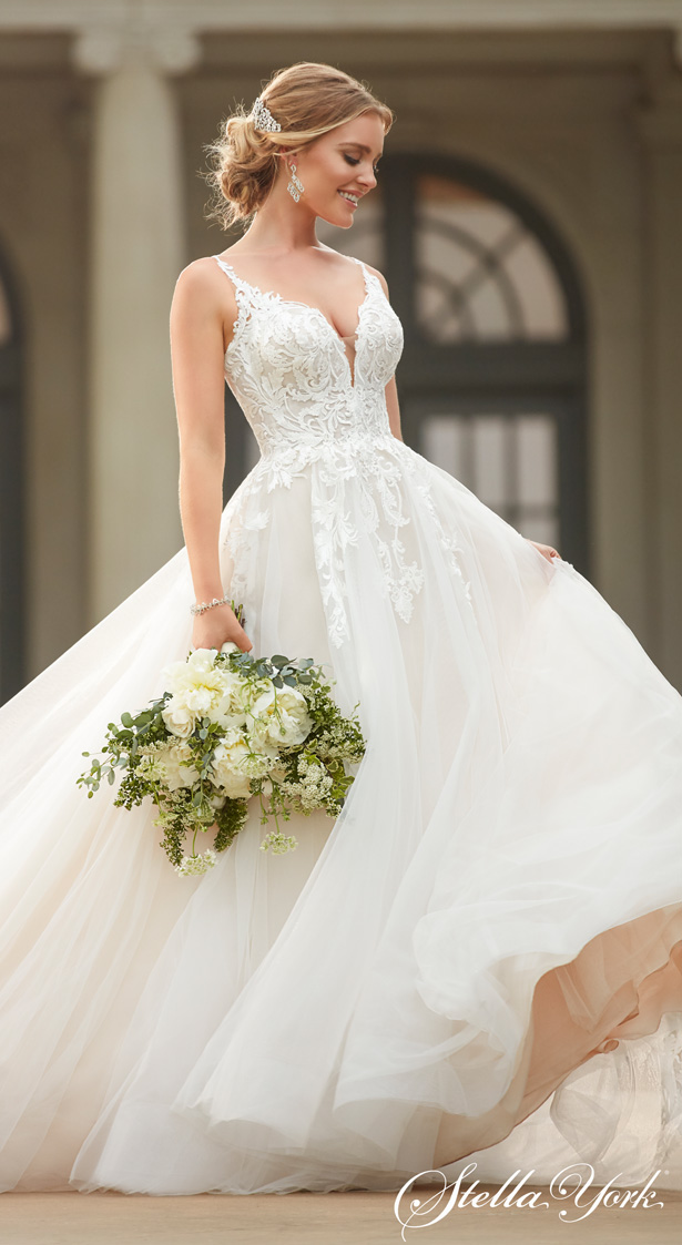 World Exclusive : Stella York 8 Wedding Dresses - Belle The